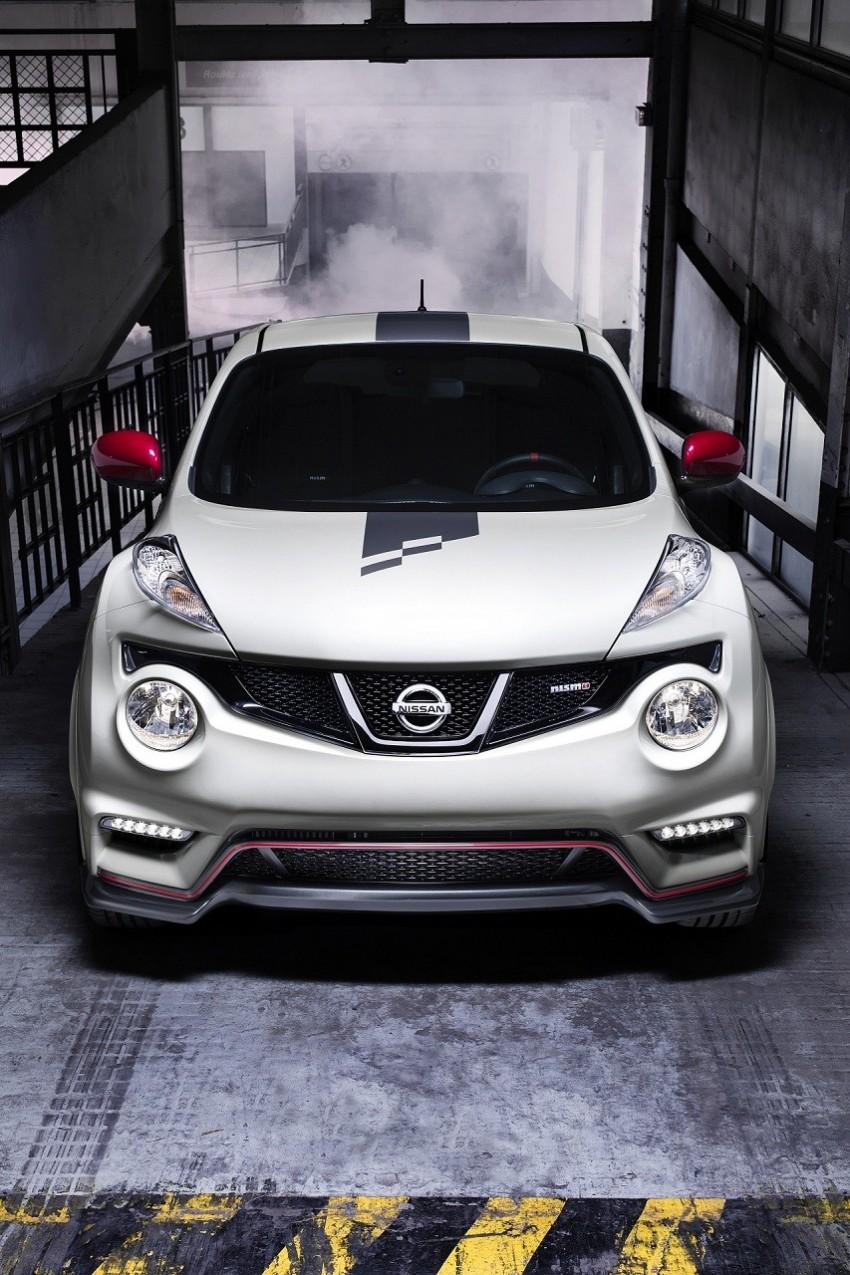Production Nissan Juke Nismo revealed at Le Mans Image #112624
