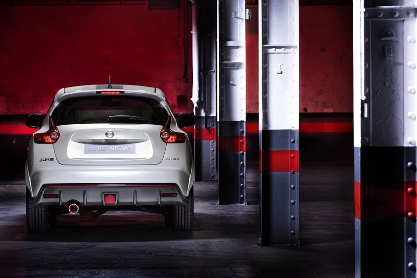 Production Nissan Juke Nismo revealed at Le Mans Image #112625