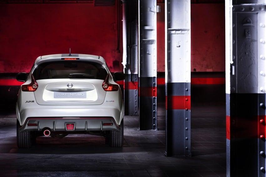 Production Nissan Juke Nismo revealed at Le Mans Image #112625