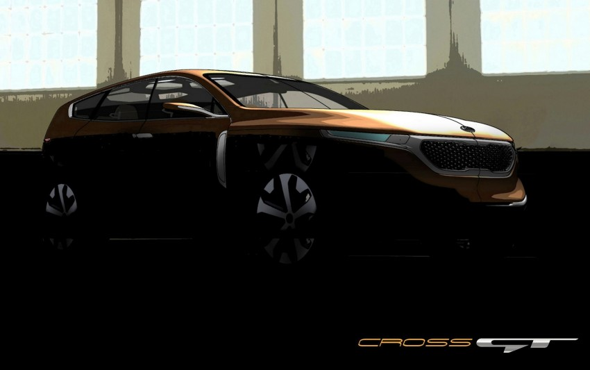 Kia Cross GT – crossover concept set for Chicago Image #151859
