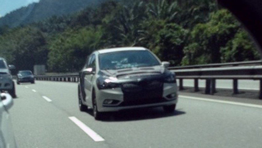 SPIED: Kia K3 – the new Forte spotted on PLUS Image #142293