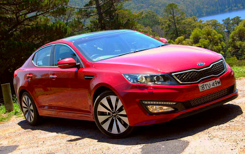 DRIVEN: Kia Optima 2.4 GDI sampled in Melbourne Image #52658