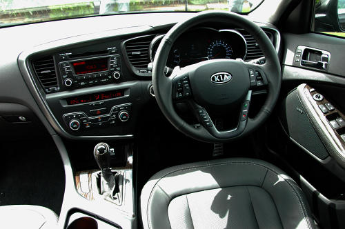 DRIVEN: Kia Optima 2.4 GDI sampled in Melbourne Image #52646