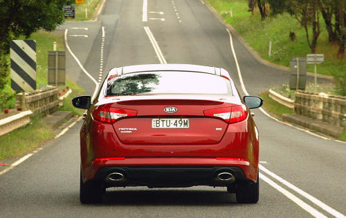 DRIVEN: Kia Optima 2.4 GDI sampled in Melbourne Image #52651