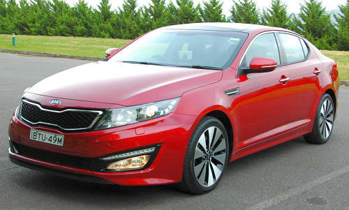 DRIVEN: Kia Optima 2.4 GDI sampled in Melbourne Image #52657