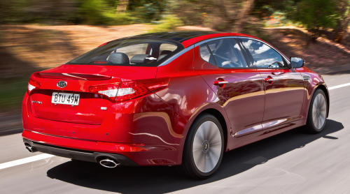 DRIVEN: Kia Optima 2.4 GDI sampled in Melbourne Image #52632