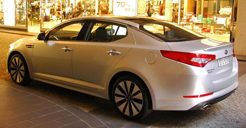 DRIVEN: Kia Optima 2.4 GDI sampled in Melbourne Image #52633