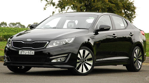 DRIVEN: Kia Optima 2.4 GDI sampled in Melbourne Image #52634