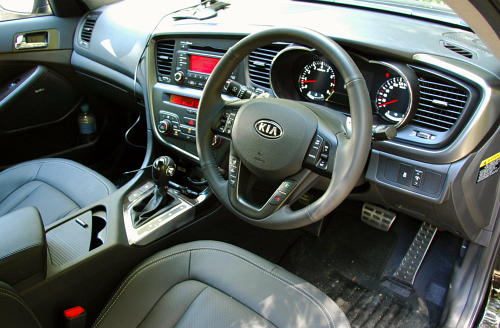 DRIVEN: Kia Optima 2.4 GDI sampled in Melbourne Image #52637