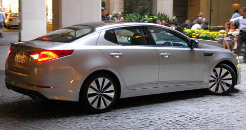 DRIVEN: Kia Optima 2.4 GDI sampled in Melbourne Image #52639