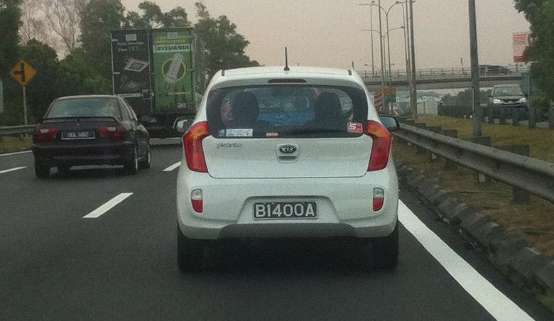 Spyshot: Kia Picanto TA on the Guthrie Corridor Image #114032