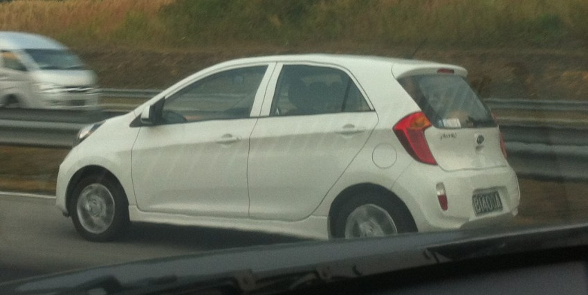 Spyshot: Kia Picanto TA on the Guthrie Corridor Image #114033