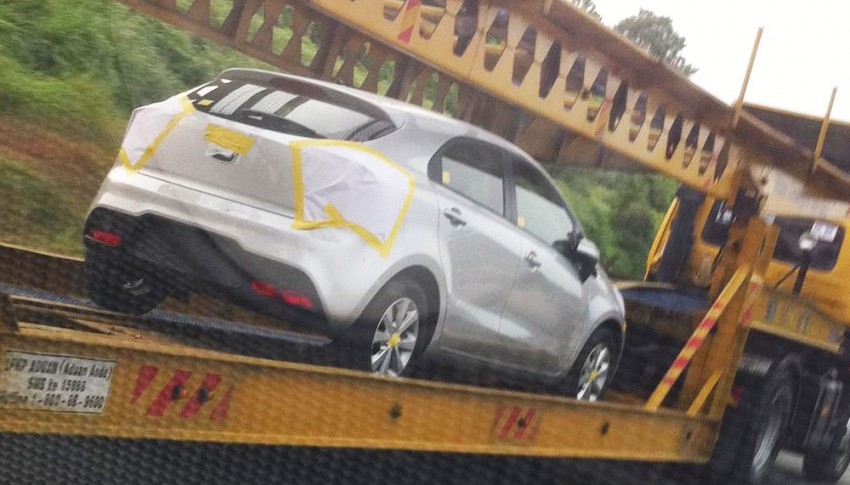 Kia Rio sighted in Malaysia again, Kia Malaysia looking for feedback on Facebook Image #115602