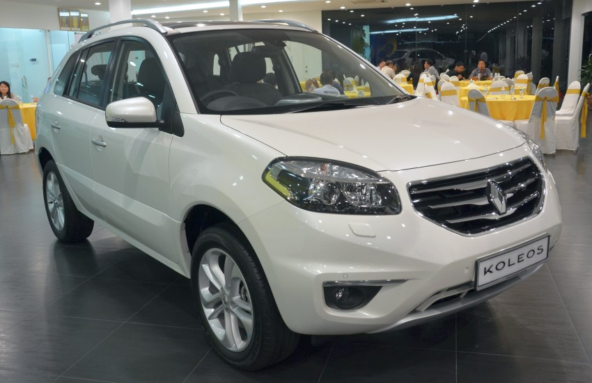 Renault Koleos and Clio R.S: TCE flipped the prices! Image #111145