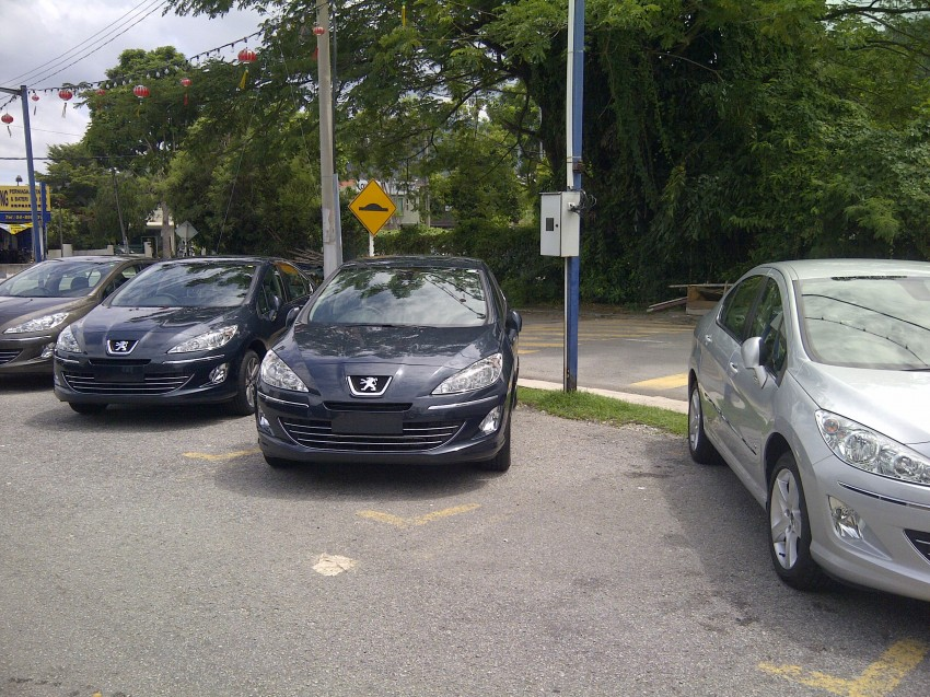 Groups of Peugeot 408s spotted – 1.6 Turbo and 2.0 NA Image #105002