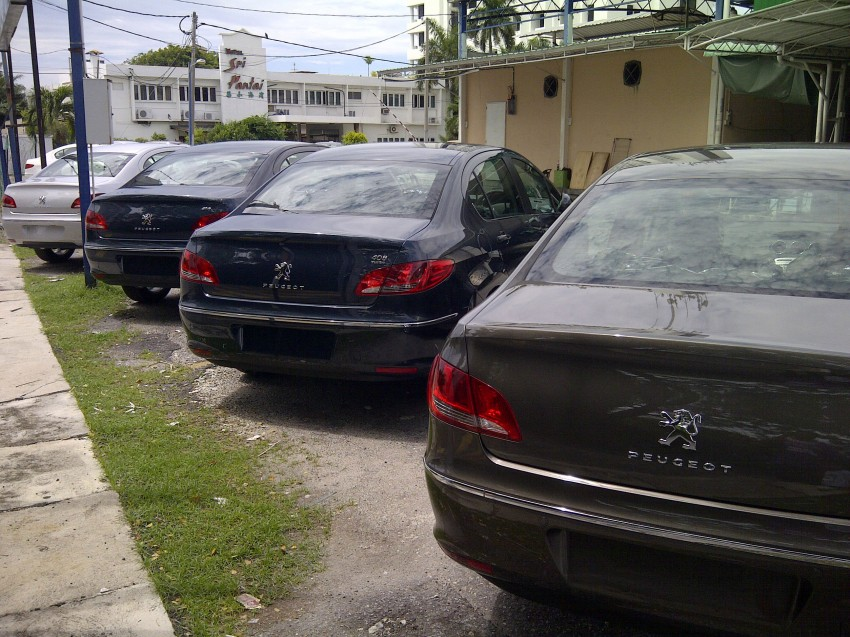 Groups of Peugeot 408s spotted – 1.6 Turbo and 2.0 NA Image #105003