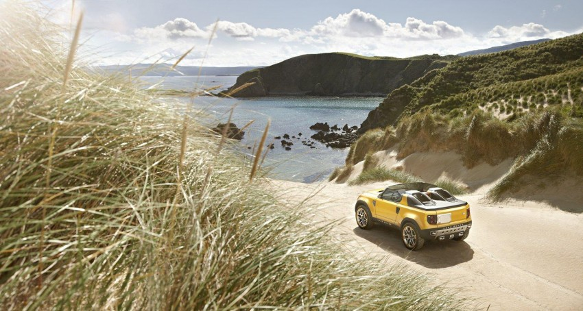 Frankfurt: Land Rover reveals the DC100 and DC100 Sport Defender concepts Image #68591