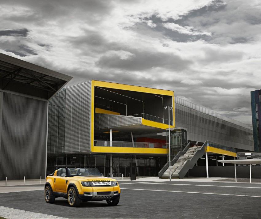 Frankfurt: Land Rover reveals the DC100 and DC100 Sport Defender concepts Image #68594