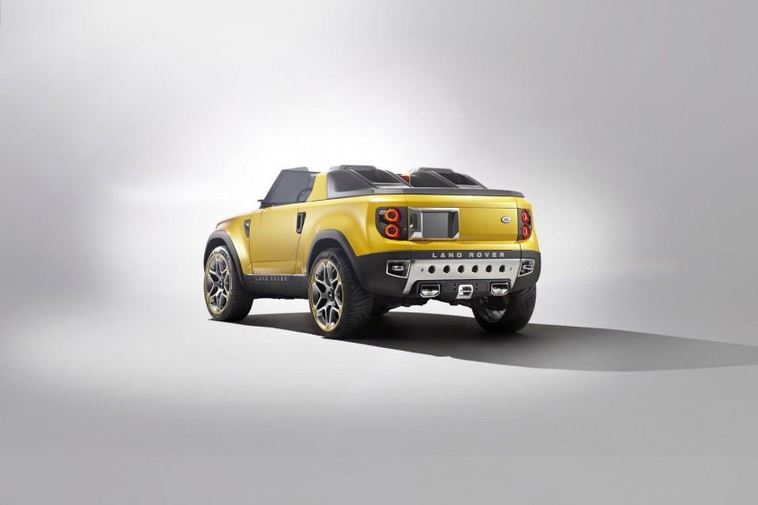Frankfurt: Land Rover reveals the DC100 and DC100 Sport Defender concepts Image #68595