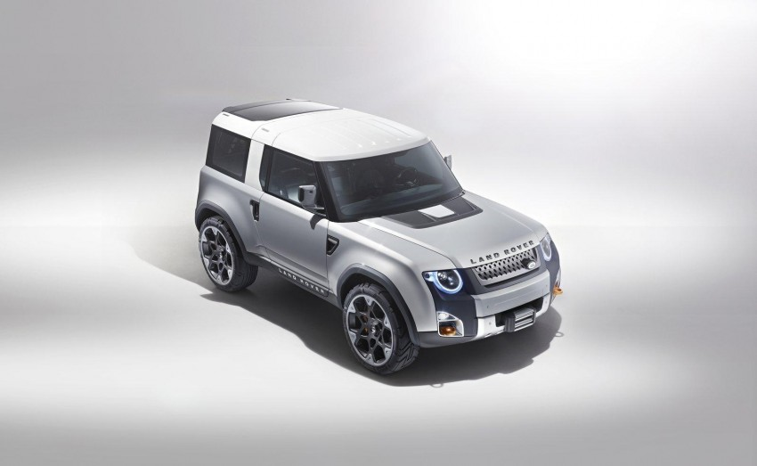 Frankfurt: Land Rover reveals the DC100 and DC100 Sport Defender concepts Image #68602