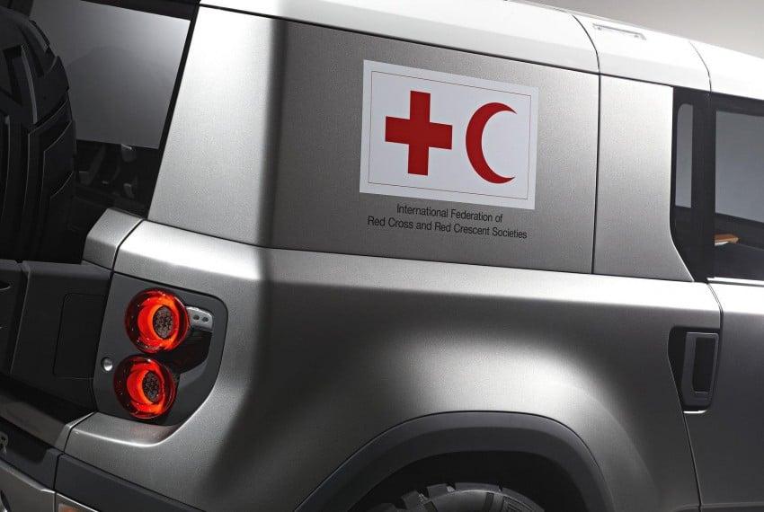 Frankfurt: Land Rover reveals the DC100 and DC100 Sport Defender concepts Image #68604