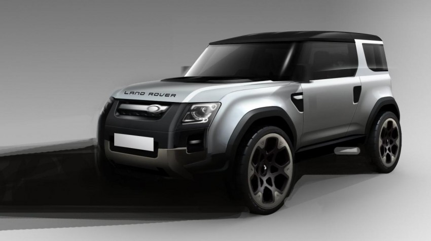 Frankfurt: Land Rover reveals the DC100 and DC100 Sport Defender concepts Image #68609