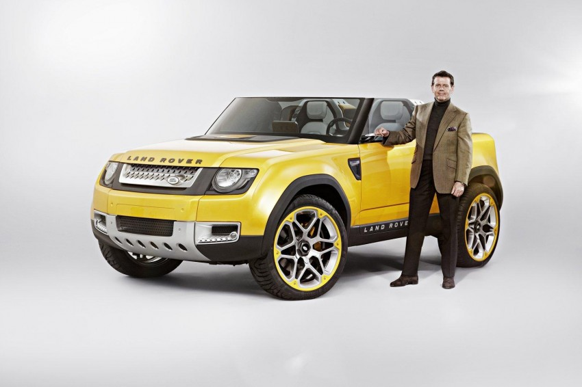 Frankfurt: Land Rover reveals the DC100 and DC100 Sport Defender concepts Image #68615