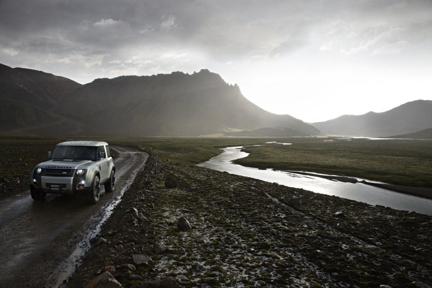 Frankfurt: Land Rover reveals the DC100 and DC100 Sport Defender concepts Image #68617