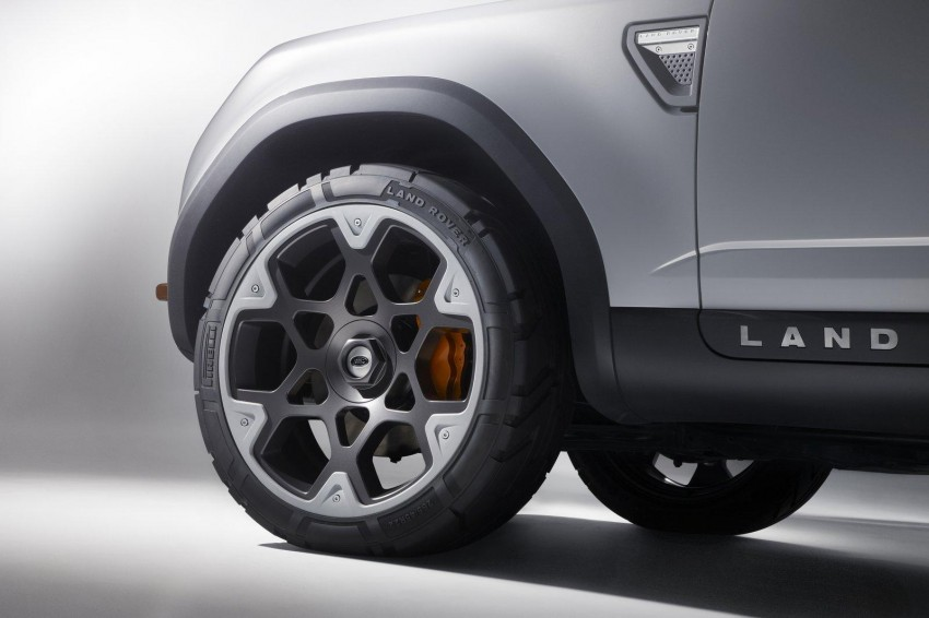 Frankfurt: Land Rover reveals the DC100 and DC100 Sport Defender concepts Image #68619
