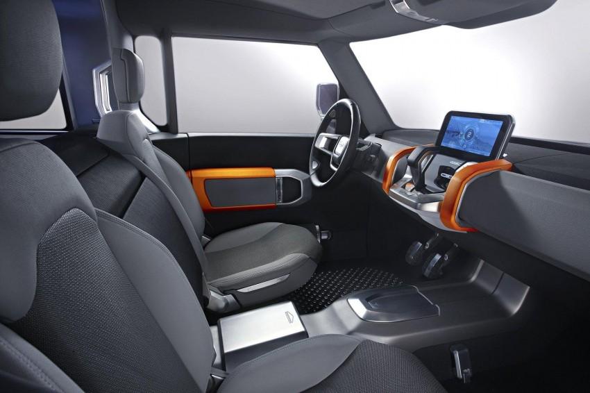 Frankfurt: Land Rover reveals the DC100 and DC100 Sport Defender concepts Image #68625