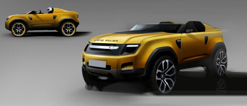 Frankfurt: Land Rover reveals the DC100 and DC100 Sport Defender concepts Image #68628