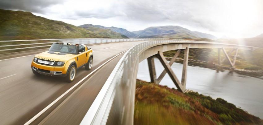 Frankfurt: Land Rover reveals the DC100 and DC100 Sport Defender concepts Image #68629