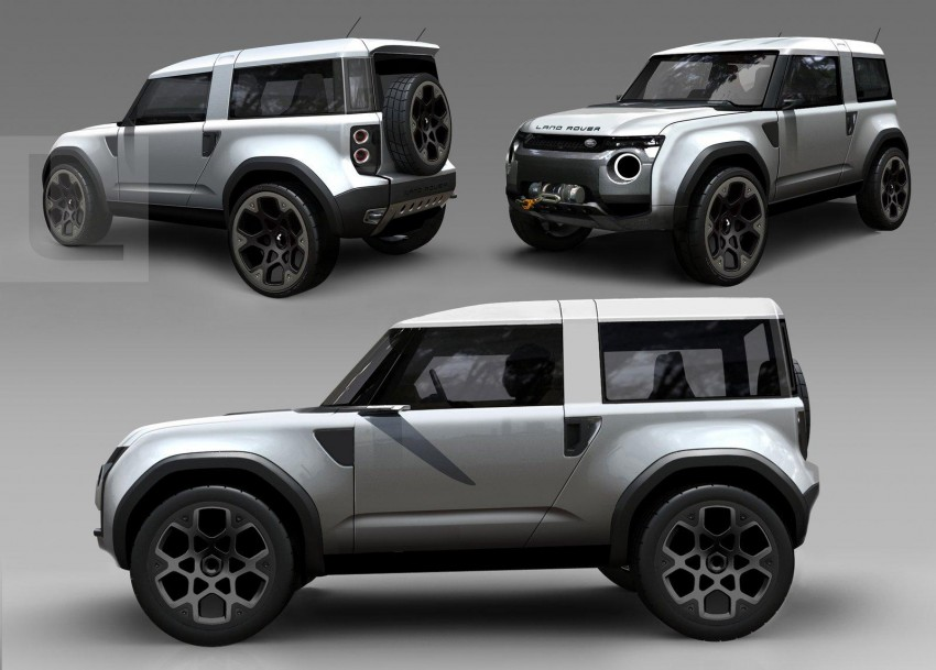 Frankfurt: Land Rover reveals the DC100 and DC100 Sport Defender concepts Image #68633