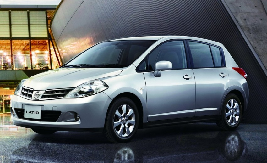 Nissan Latio gets facelifted – range now down to two variants, a hatchback and a sedan; hatch goes 1.8L Image #70815