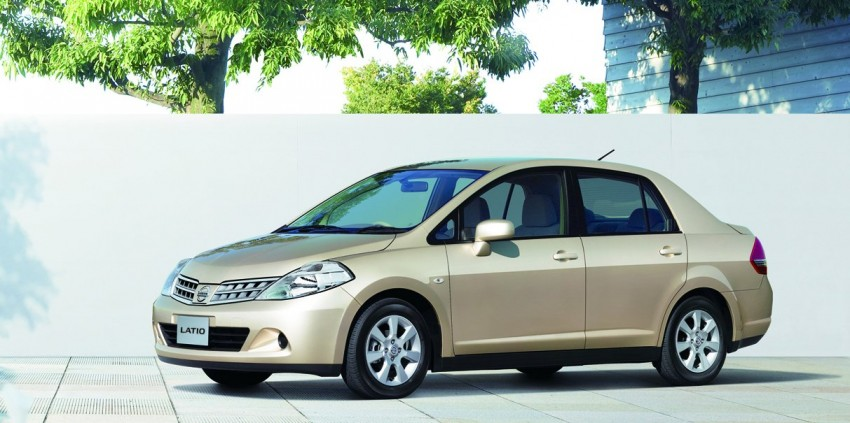Nissan Latio gets facelifted – range now down to two variants, a hatchback and a sedan; hatch goes 1.8L Image #70817