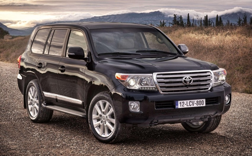 2012 Toyota Land Cruiser unveiled at Brussels Motor Show Image #84100
