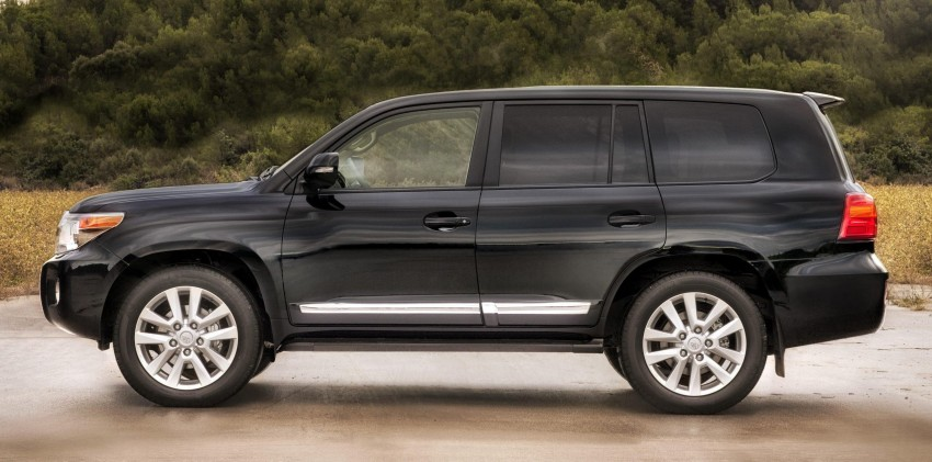 2012 Toyota Land Cruiser unveiled at Brussels Motor Show Image #84103