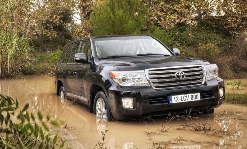 2012 Toyota Land Cruiser unveiled at Brussels Motor Show Image #84106