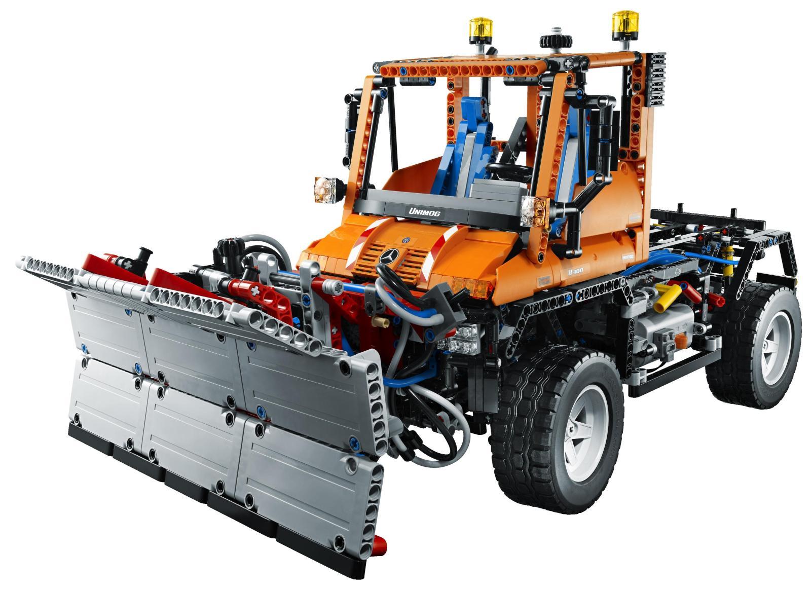 Unimog U400 For Sale >> Lego Technic Unimog U400 - playfully plastic, this one