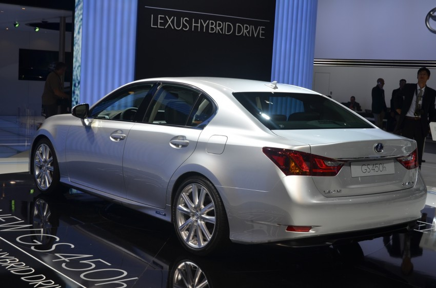Lexus GS 450h gets an early reveal ahead of Frankfurt Image #68952