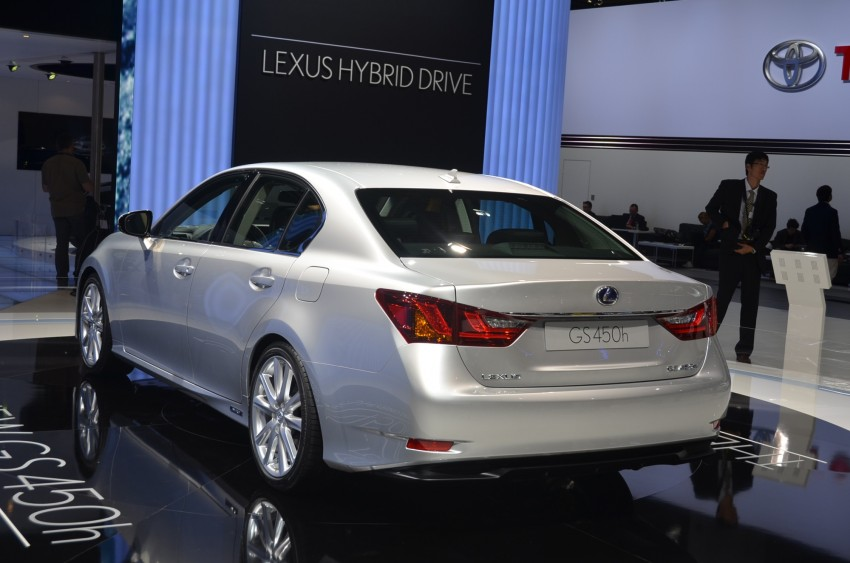 Lexus GS 450h gets an early reveal ahead of Frankfurt Image #68953