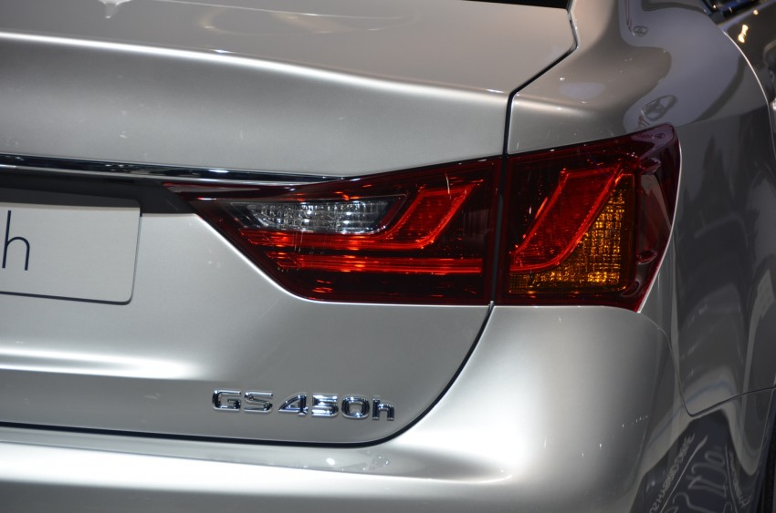 Lexus GS 450h gets an early reveal ahead of Frankfurt Image #68959
