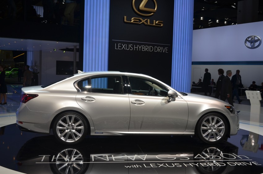 Lexus GS 450h gets an early reveal ahead of Frankfurt Image #68961