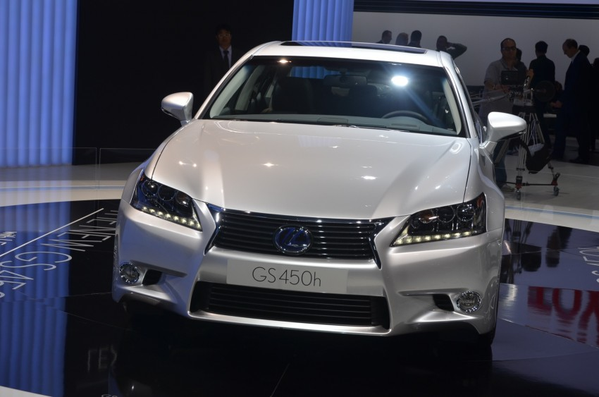 Lexus GS 450h gets an early reveal ahead of Frankfurt Image #68963