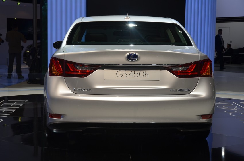 Lexus GS 450h gets an early reveal ahead of Frankfurt Image #68946
