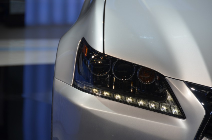 Lexus GS 450h gets an early reveal ahead of Frankfurt Image #68947