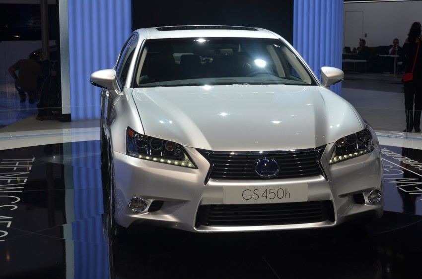 Lexus GS 450h gets an early reveal ahead of Frankfurt Image #68948