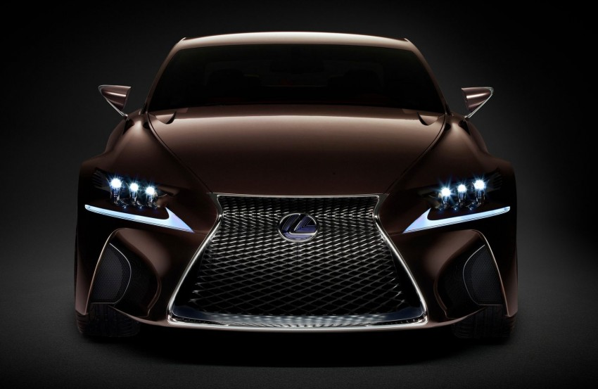 VIDEO: Lexus LF-CC Concept, a glimpse of the new IS Image #134159