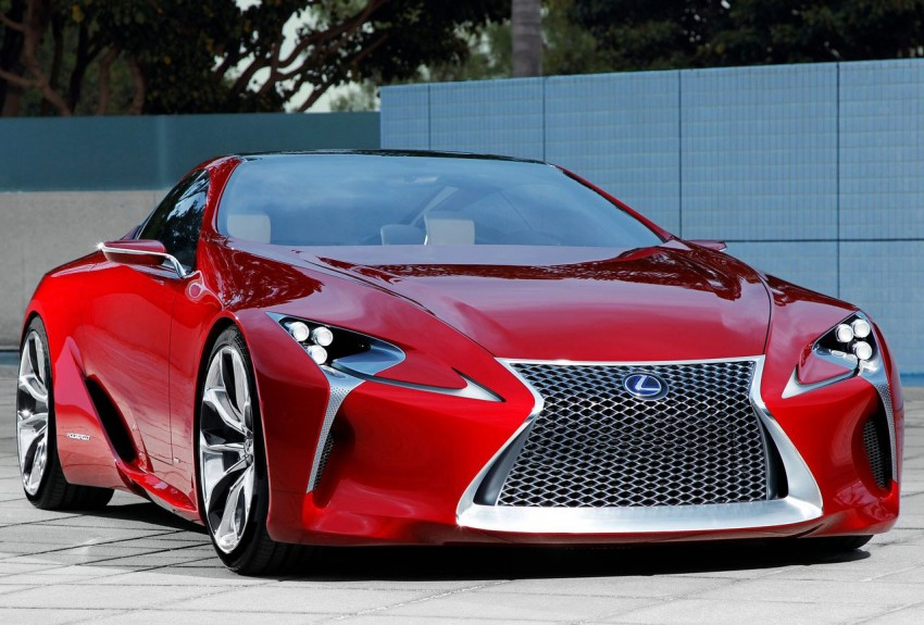 Lexus LF-LC Concept fully revealed, and it's spectacular! Image #83133