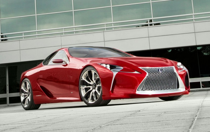 Lexus LF-LC Concept fully revealed, and it's spectacular! Image #83134